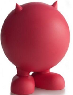 Игр д/собак Мяч на ножках с рожками маленький