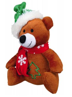 Игр д/собак Рождественнская 20 см плюш