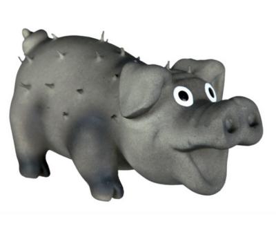 Игр д/собак Свинка со щетиной 10 см латекс