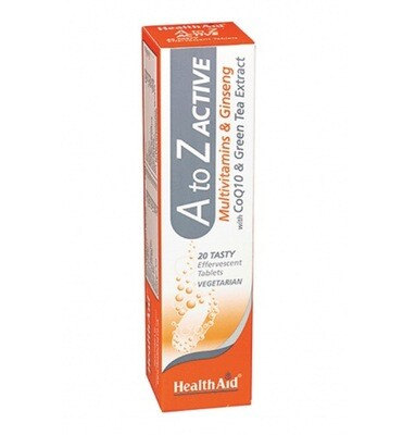 A-Z Active Multivitamin With Ginseng