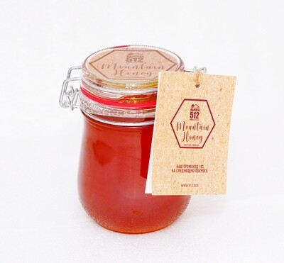 Мёд горный 600г