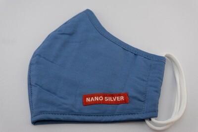 Modische Maske | 2er-Pack | Nanosilber waschbar