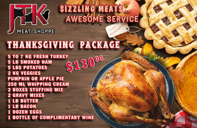 THANKSGIVING PACKAGE