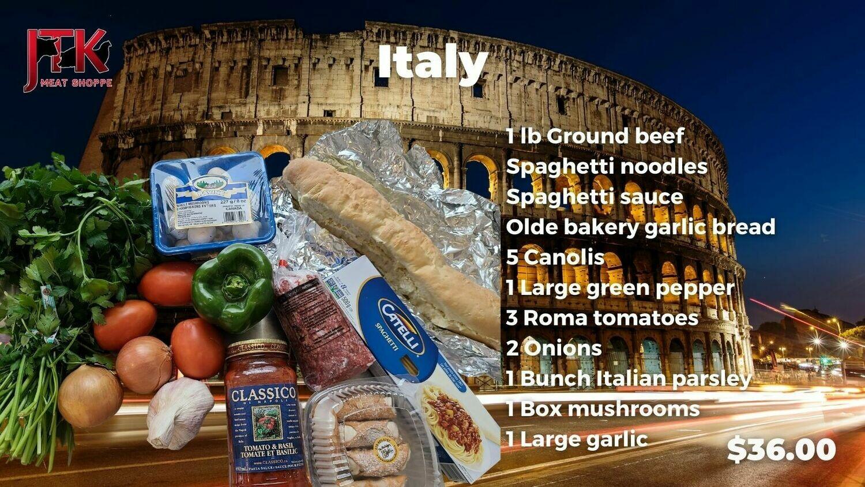 TASTE OF ITALY PACK