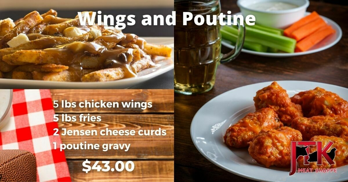 Wings and Poutine