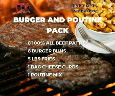 Burger and Poutine Pack