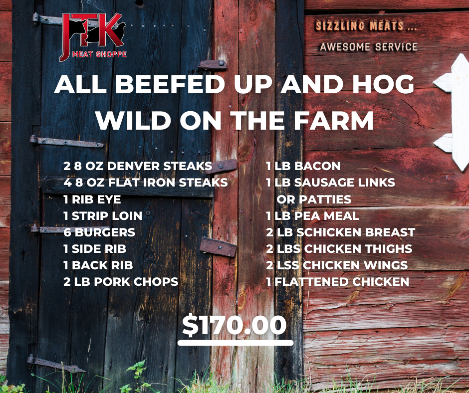 All Beefed Up and Hog Wild on the Farm Pack