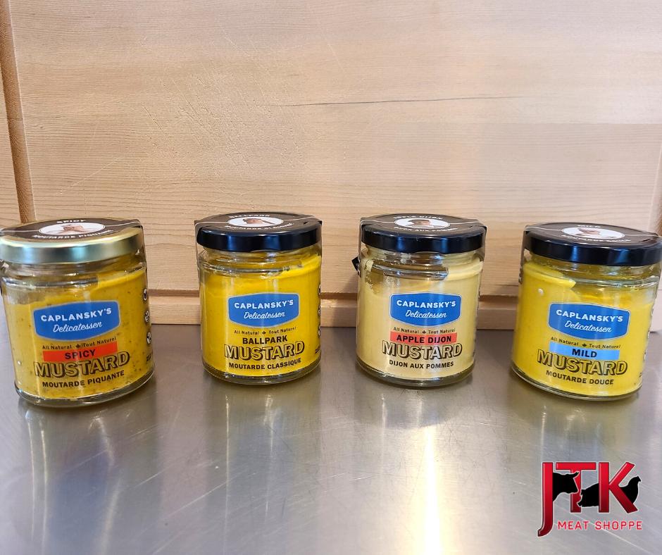 Caplansky's Delicatessen Mustards
