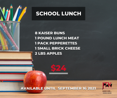 SCHOOL LUNCH PACK