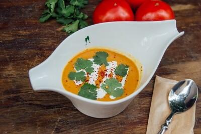 Крем-суп з сочевиці на кокосовому молоці