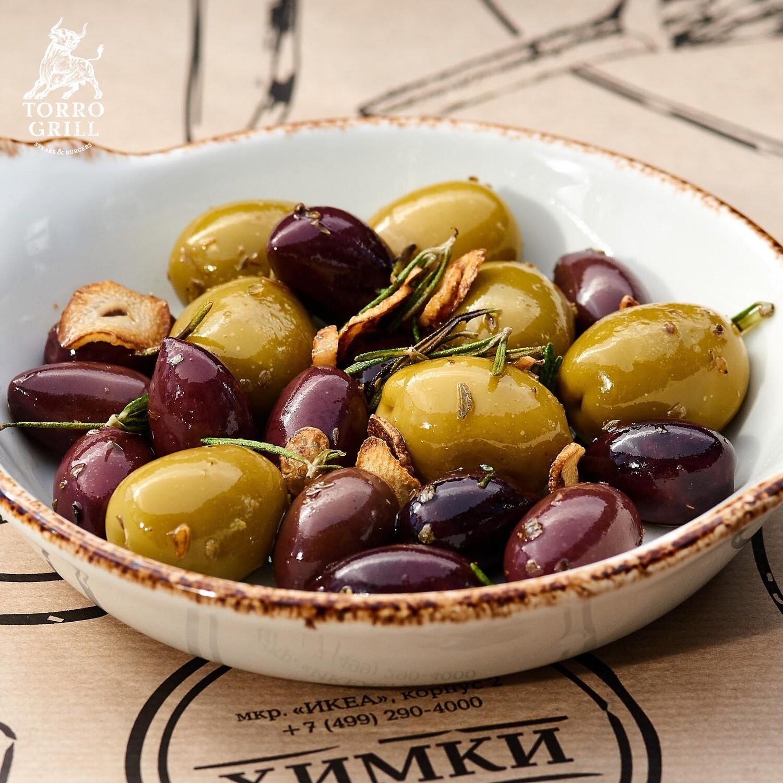 Оливки по-Лигурийски