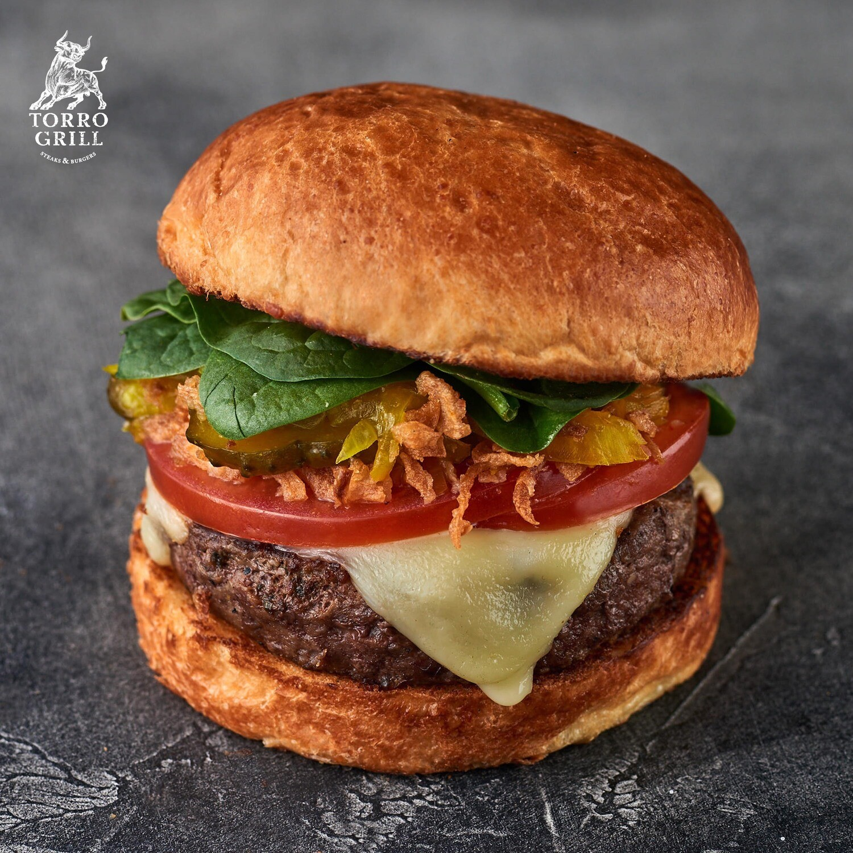 Чизбургер  с релишем