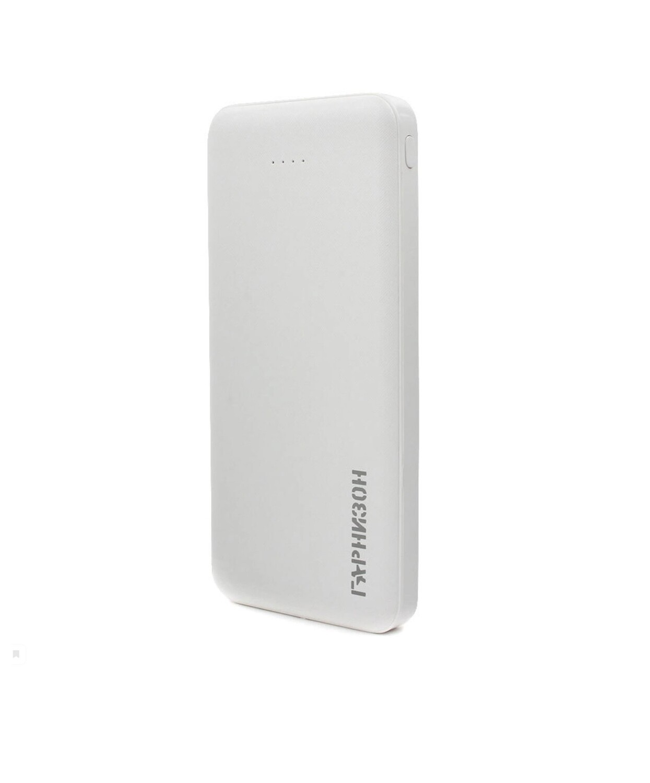 Портативный аккумулятор Гарнизон GPB-115W Power Bank, 10000 mAh, белый
