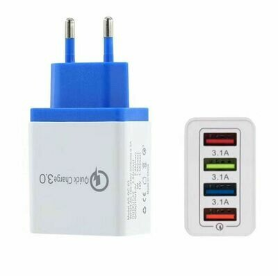 Зарядное устройство 4 usb порта QC 3.0