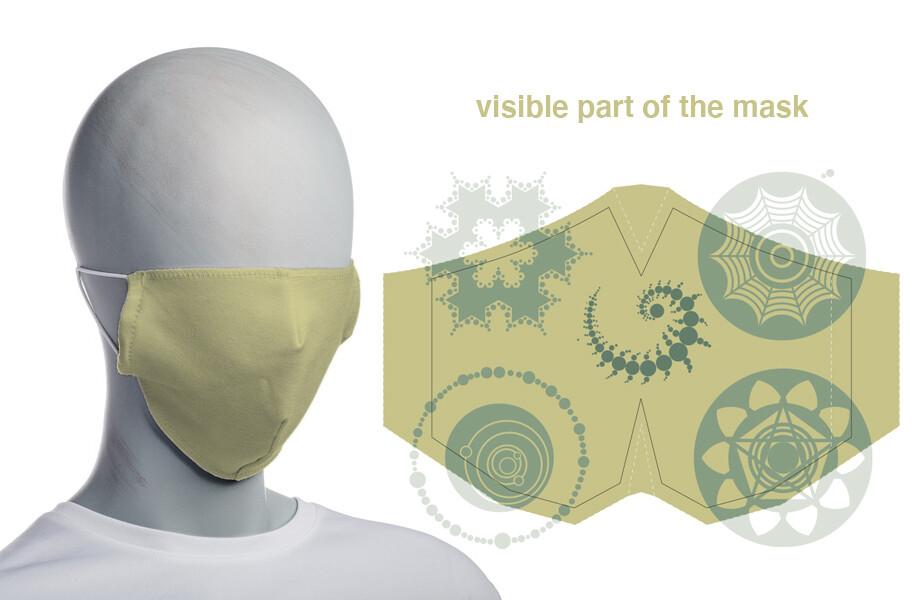 face mask mustard (non surgical)
