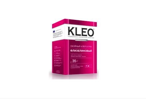 KLEO Клей для флизелиновых обоев, EXTRA 35м2 240г.
