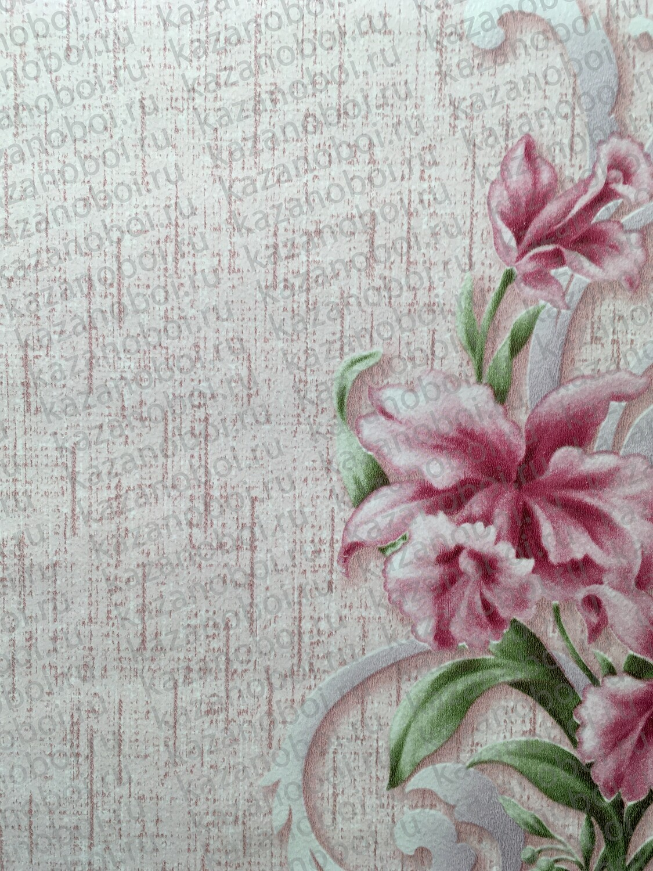 Саратов обои бумажные (симплекс) 0,53x10м Нота-03