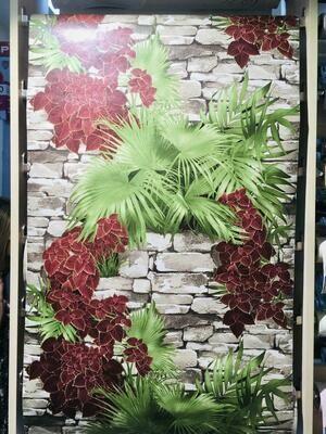 Саратов обои бумажные (симплекс) 0,53x10м Тропики-02