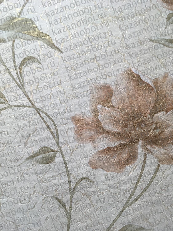 Саратов обои бумажные (дуплекс) 0,53x10м Мария-05