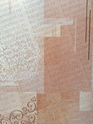 Саратов обои бумажные (симплекс) 0,53x10м  /беж Тетрис-02