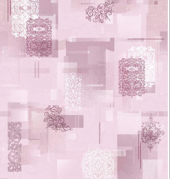 Саратов обои бумажные (симплекс) 0,53x10м  /роз Тетрис-03