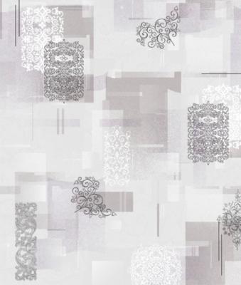 Саратов обои бумажные (симплекс) 0,53x10м  /сер Тетрис-06