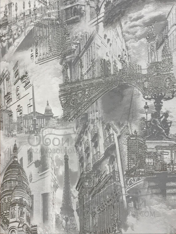 Гомель Фокс Обои виниловые на флизелиновой основе 1,06х10м Париж 4190