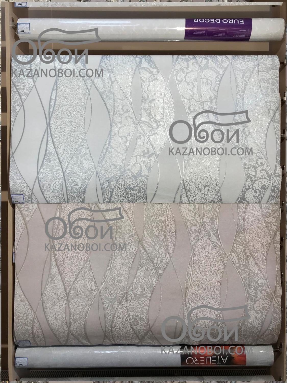 Эрисманн обои виниловые на флизелиновой основе 1,06х10м 4551-4 (кофейные)