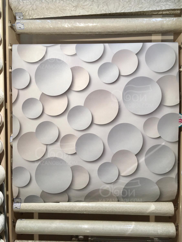 Артекс (Россия) обои виниловые на флизелиновой основе 1,06х10м  Круги 10360-03
