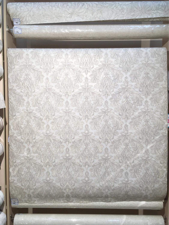 ЕвроДекор обои виниловые на флизелиновой основе 1,06х10м  Tiara 9001-01