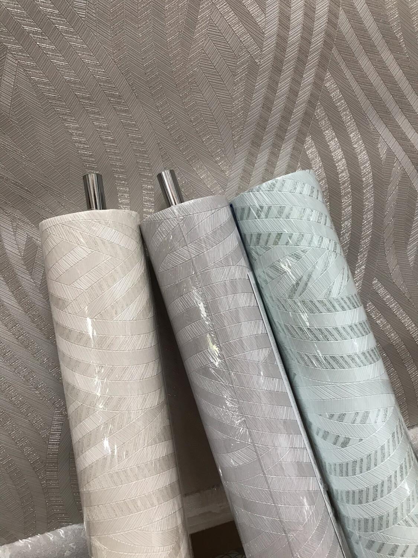 Эрисманн обои виниловые на флизелиновой основе 1,06х10м  Leticia 60105-05 бирюзовые