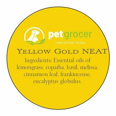 Pet Grocer Essential Oil - Yellow Gold