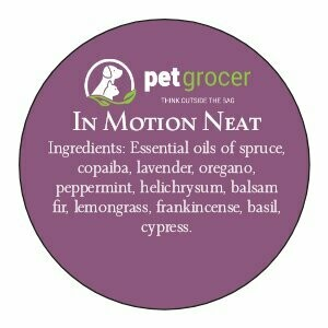 Pet Grocer Essential Oil - In Motion