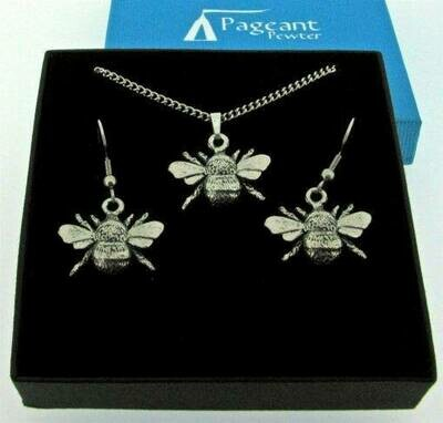 Bee Pewter Gift Set