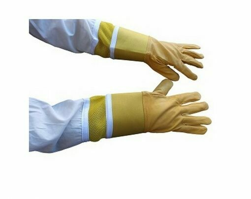 Oz Armour Cow Hide Ventilated Gloves