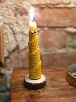 Medium Rolled Candle