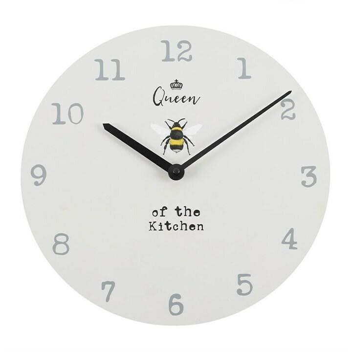 Queen of the Kitchen Bee Clock