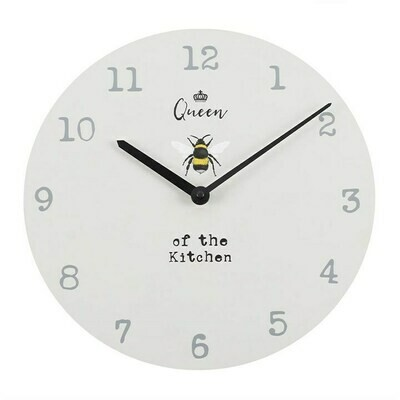 Queen of the Kitchen Bee Clock