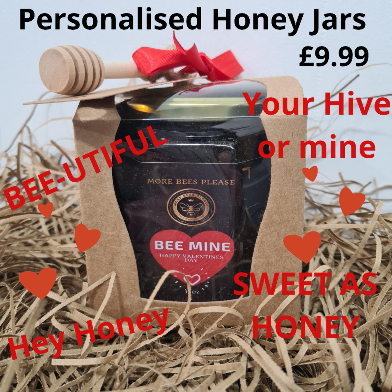 Personalised Gift Boxed Honey