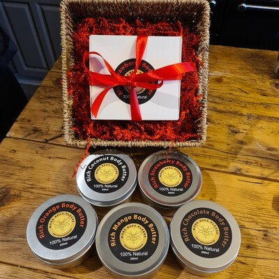 Gift Boxed Body Butters