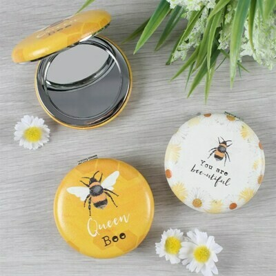 Bee-utiful Compact Mirrors