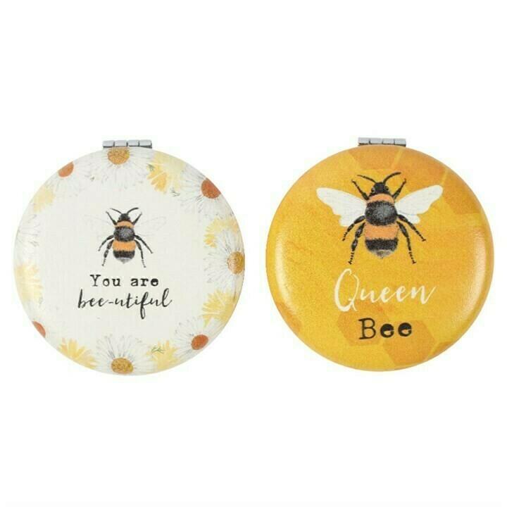 Bee-utiful Compact Mirrors