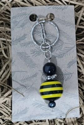 Handmade Bee Keyring