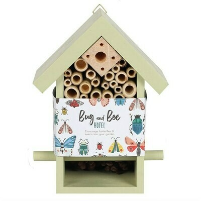 WOODEN BUG AND BEE HOTEL