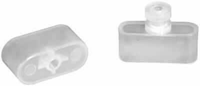 RV Designer Collection A300 Mini-Blind Rail End