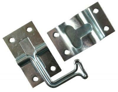 Metal 90 Degree T-Style Door Holder