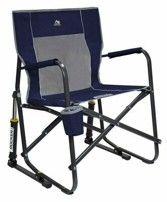 GCI Outdoor - Blue - Freestyle Rocker Portable Folding Rocking Chair