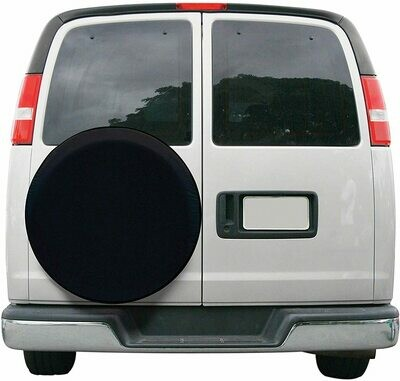 Large Universal Tire Cover, Black