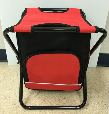 Red Cooler Stool