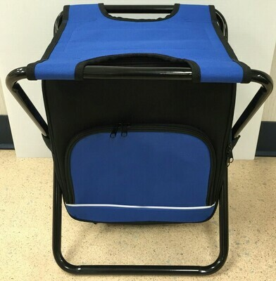 Blue Cooler Stool